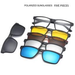 Armação de Óculos clipon magnético 6 peças