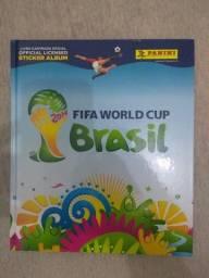 Álbum de figurinhas Copa do Brasil 2014 Completo
