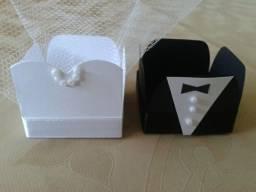 Kit forminhas de noivos