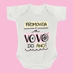Body de Bebê Personalizado