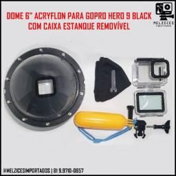 Título do anúncio: Dome Para GoPro Hero 9 Black Com Caixa Estanque Removível