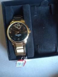 Vende se , relógio mondaine feminino novo lacrado nunca usado,  $ 250