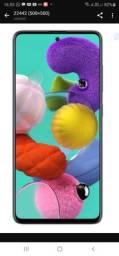 """Samsung Galaxy A51 128GB, Tela Infinita de 6.5"""", 4 Câmeras, Leitor Digital na Tela"""