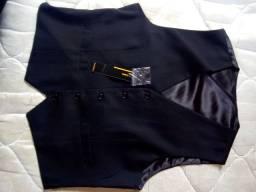 Colete Social Turqueza Tecidos e Vestuários Novo Tamanho M