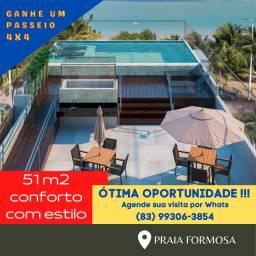 Aptos - Praia Formosa de 51 m2 a 137,50 m2 - Grande Oportunidade - Beira Mar!!!
