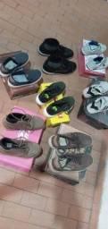 Lote de sapatos infantil masculino não entrego