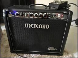 Amplificador Cubo Meteoro Nitrous Gs 100 c/ Foot