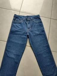Calça Jeans Azul - Masculina