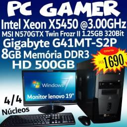 Pc Gamer GTX 570 1.25GB, Xeon x5450 Computador Pc ( Troco )