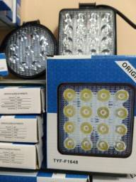 Farol de Milha LED apenas R$53,00 unidade