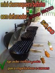 Mini churrasqueira bafinho
