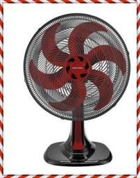 Oferta do Dia Ventilador 30cm // Nas Cores vermelho e Preto