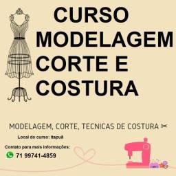 Curso modelagem corte e costura