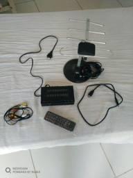 Antena digital completa (pouco uso)