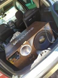 Caixa de som para veículos ou casa