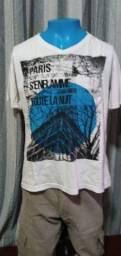 Título do anúncio: Camisa /Camiseta Branca Tigs - Tamanho M