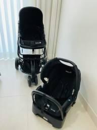 Carrinho com bebê conforto safety 1st