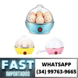 Cozedor de Ovos A vapor 110v * Até 7 ovos * Fazemos Entregas