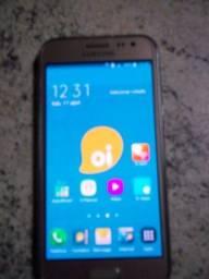 Troca- Samsung Galaxy J2 Prime - Dourado - 8GB - RAM 1GB - Quad Core - 4G - 8MP -