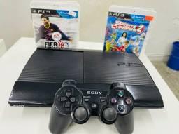 Título do anúncio: PlayStation 3 seminovo com garantia > aproveite