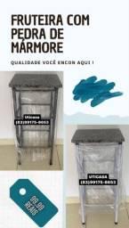 FRUTEIRA COM PEDRA DE MÁRMORE