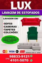 Lavagem de sofá R$ 80.00