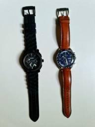 Dois relógios FOSSIL pelo preço de um!
