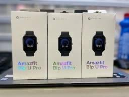Smartwatch Amazfit Bip U Pro - Preto Na caixa lacrado . + pelicula de proteção