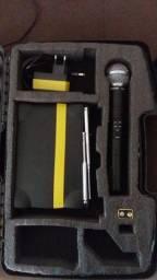 Microfone Shure sem fio MS58