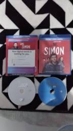 Bluray + DVD - Com Amor, Simon - Importado