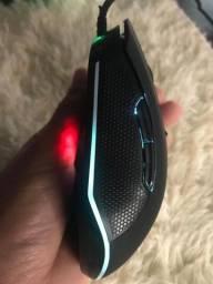 Mouse Com Fio Gamer Mox Mause Gamer 6d Óptico Alta Resolução