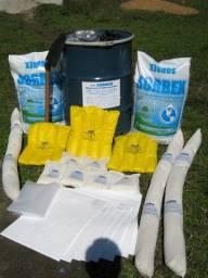 Kit de emergência ambiental para Hidrocarbonetos e produtos químicos
