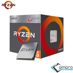 Título do anúncio: Processador AMD Ryzen 5 2400G - Com placa de vídeo Radeon RX Vega 11 -
