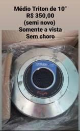 """ALTO FALANTES TRITON  DE 10"""" E DE 18"""" SEMI NOVOS"""