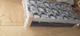 Apronta entrega cama box solteiro 10 cm de espuama nao precisa de colchao