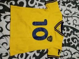 Camisa de futebol da Suécia infantil