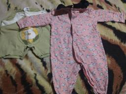 Lote roupas bebê menino 0a3 meses