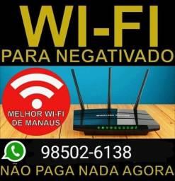 Internet wifi plus ilimitado