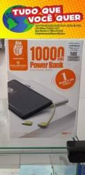 Carregador Portátil Power Bank 10.000mah Type-c E Lightning