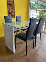 Conj Mesa com 4 cadeiras