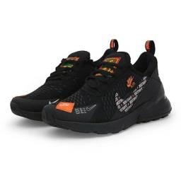 ênis Nike Air max 270 Just do It Estiloso Tradicional Promoção ( Pedido)