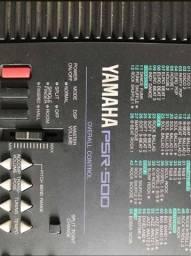 Teclado Yamaha PSR 500 Semi Novo