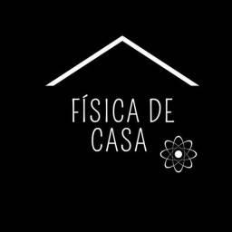 FÍSICA DE CASA, REFORÇO EM FÍSICA.