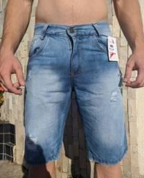 3 bermudas Jeans por 100,00
