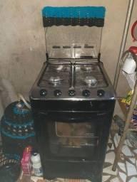 Fogao 4 bocas é forno funcionando