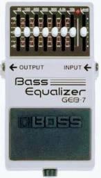Pedal pra baixo geb-7 equalizer da marca boss