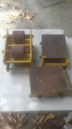 Vendo 4 tartaruga para máquinas pesadas
