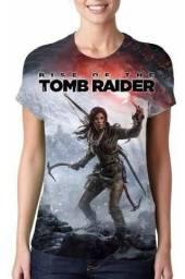 Camisa, Camiseta Game Rise Of The Tomb Raider