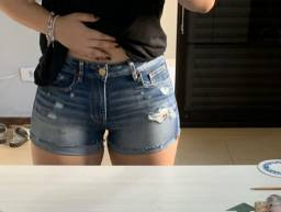 Short american eagle feminino com stretch