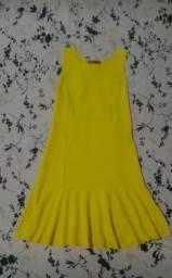 Vestido de malha, Clock House, Tam. M